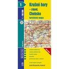 1:100T ( 1)-Krušné hory-západ,Chebsko (turistická mapa)