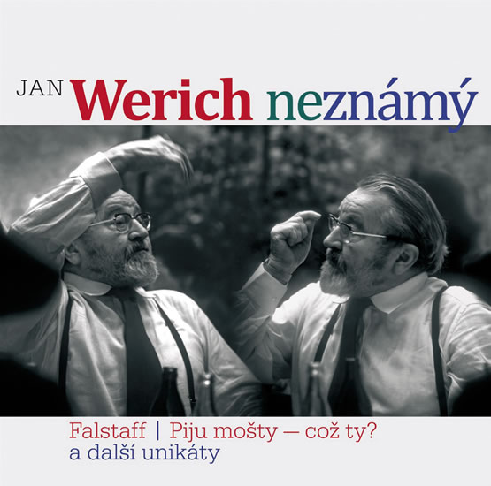 Jan Werich neznámý CD - Werich Jan