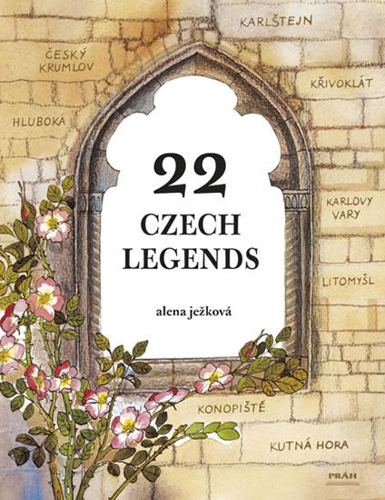 22 Czech Legends / 22 českých legend (anglicky) - Ježková Alena