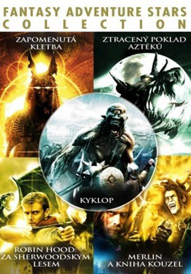 Fantasy Adventure Stars Collection - 5 DVD - neuveden