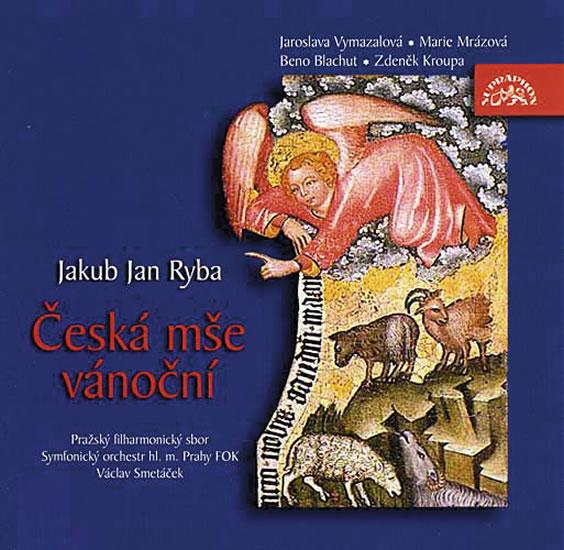 Ryba Jakub Jan - Česká mše vánoční CD - Ryba Jakub Jan
