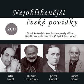 Nejoblíbenější české povídky - 2CD (čte Rudolf Hrušínský)