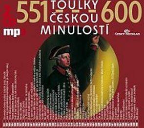 Toulky českou minulostí 551-600 - 2CD/mp3