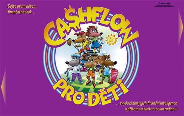 Cashflow pro děti + CD - Kiyosaki Robert T.