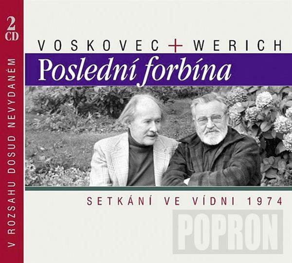 Poslední forbína CD - Voskovec Jiří, Werich Jan