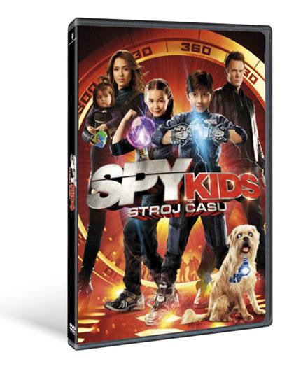 Spy kids 4: Stroj času - DVD - neuveden