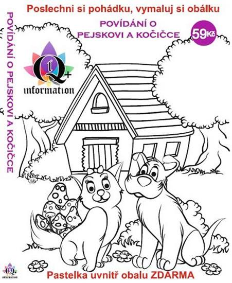 Povídání o pejskovi a kočičce - CD + pas - Čapek Josef