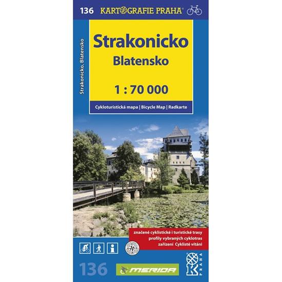 1: 70T(136)-Strakonicko,Blatensko (cyklomapa) - neuveden