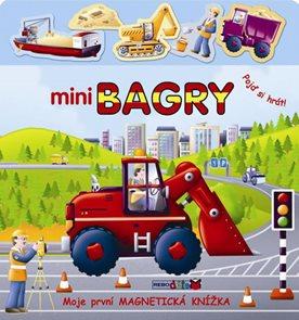 Mini bagry - Moje první magnetická knížka