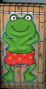 Žabák – Pískací kniha do vany