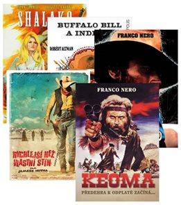 Westernová filmová kolekce 5DVD (Keoma + Buffalo Bill a indiáni + Shalako + Adios Django + Rychlejší