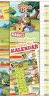 Kalendář - W. Disney Medvídek Pú - měřící kalendář - nedatovaný