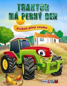 Traktor má perný den - Příběh plný zvuků