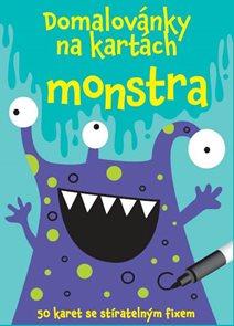 Domalovánky na kartách - Monstra