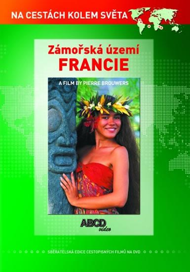 DVD Zámořská území Francie - Na cestách kolem světa - neuveden - 13x19 cm