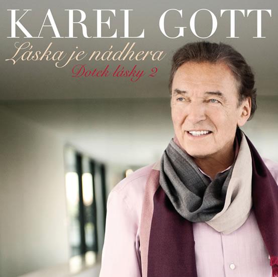 Karel Gott - Láska je nádhera CD (Doteky lásky 2) - Gott Karel