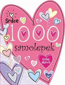 1000 samolepek - Srdce