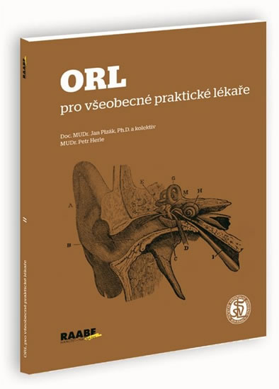 ORL pro všeobecné praktické lékaře - Plzák Jan, Herle Petr - 15x21 cm