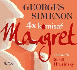 4x komisař Maigret - Potřetí - 4CD