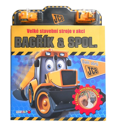 Bagřík & spol. - Velké stavební stroje v akci (2 modely + rozkládací dráha) - neuveden