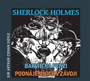 CD Sherlock Holmes - Barvíř na penzi / Podnájemnice v závoji