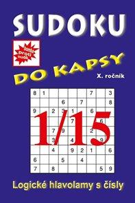Sudoku do kapsy 1/2015 (modrá)