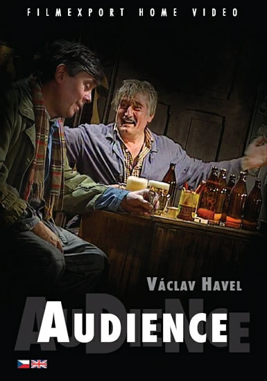 Audience - DVD box - Havel Václav - 13x19 cm