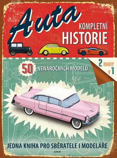 Auta - Kompletní historie - neuveden - 22x30 cm