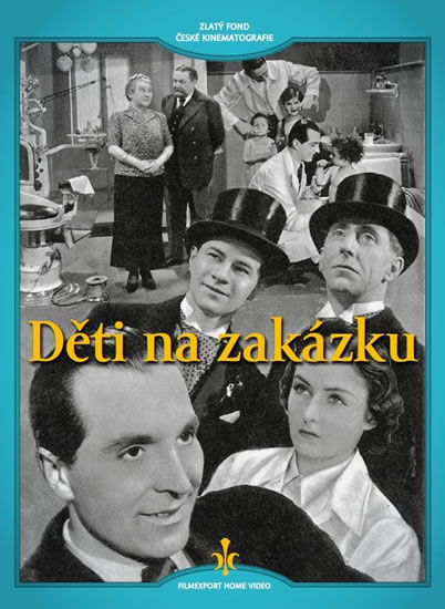 DVD Děti na zakázku - neuveden - 13x19 cm