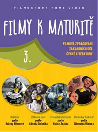 Filmy k maturitě 3 - 4 DVD (digisleeve) - neuveden - 14x19 cm
