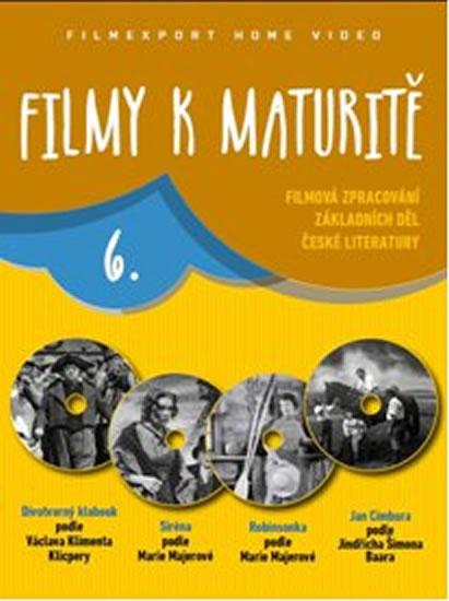 Filmy k maturitě 6 - 4 DVD (digisleeve) - neuveden