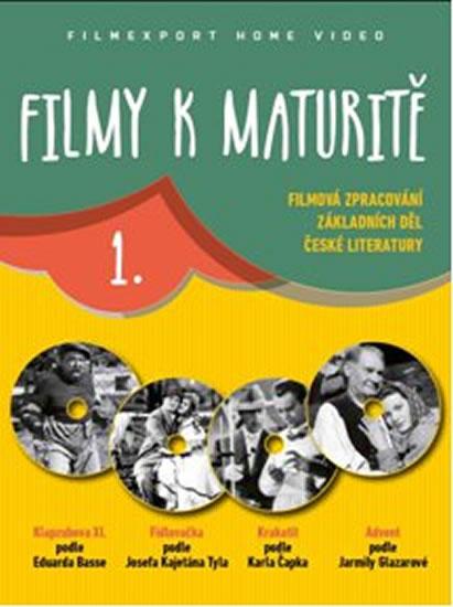 Filmy k maturitě 1 - 4 DVD (digisleeve) - neuveden