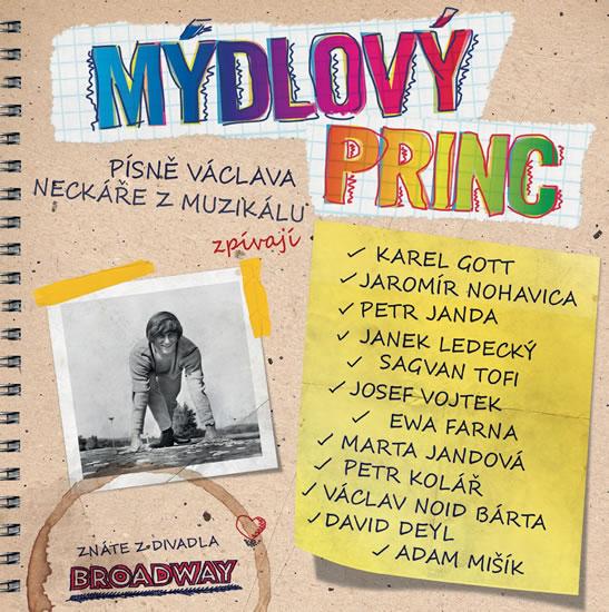 CD Mýdlový princ - neuveden - 13x14 cm