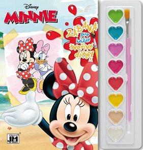 Minnie - Omalovánky s barvami A5