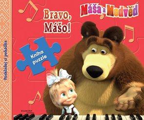 Máša a medvěd Bravo, Mášo - Kniha puzzle