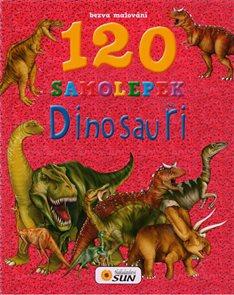 Dinosauři 120 samolepek - Bezva malování