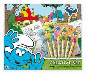 Šmoulové - Kreativní set