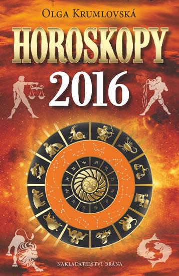 Horoskopy 2016 - Krumlovská Olga - 14x21 cm
