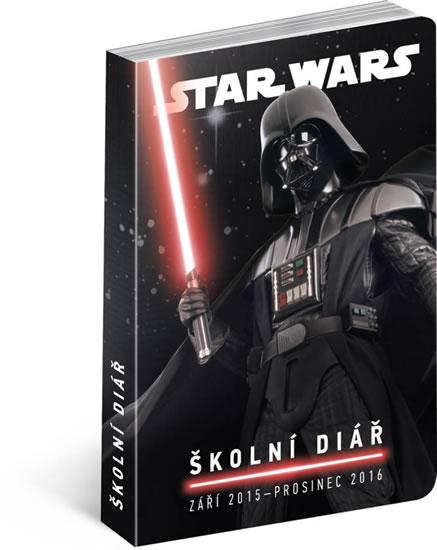 Diář 2016 - Star Wars Classics, školní diář, září 2015 - prosinec 2016 - neuveden - 10x15 cm