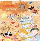 Kalendář nástěnný 2016 - Rodinný plánovací, poznámkový  30 x 30 cm