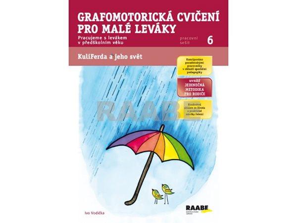 Grafomotorická cvičení pro malé leváky - Vodička Ivo - 21x30 cm
