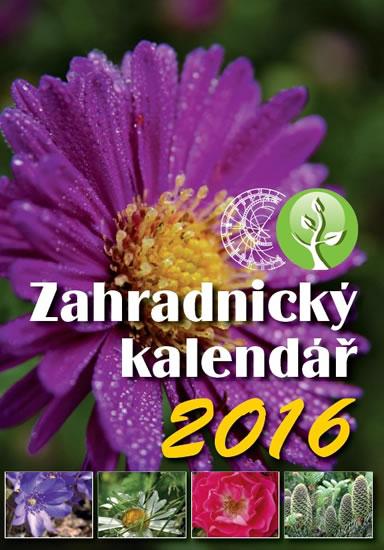 Zahradnický kalendář 2016 - neuveden - 15x21 cm