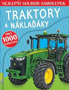 Traktory a náklaďáky - Nejlepší soubor samolepek