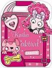 Růžoví chlupáčci - kniha aktivit se samolepkami