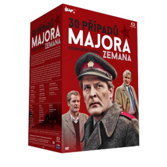 30 Případů Majora Zemana - 30 DVD - neuveden - 13x19 cm