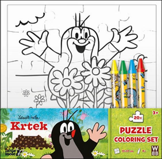 Krtek - Omalovánky puzzle - neuveden
