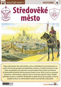 Středověké město - Naučná karta