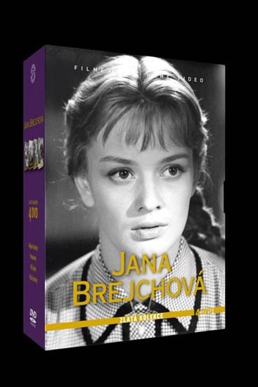 DVD Jana Brejchová - Zlatá kolekce - neuveden - 14x19 cm