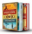 2x Jonasson: Stoletý stařík + Analfabetka - Box