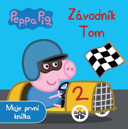 Peppa Pig Závodník Tom - Moje první knížka - neuveden - 18x18 cm